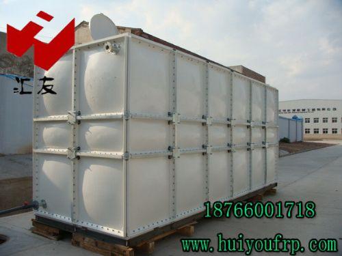 人防玻璃钢水箱生产厂家 山东汇友