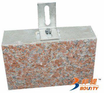 天然泌阳红超薄石材复合保温板