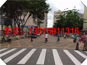 惠州公庄道路标线