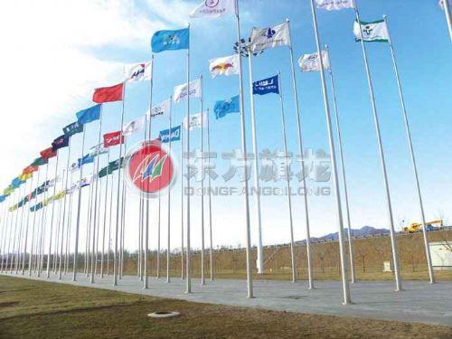 北京电动锥形旗杆