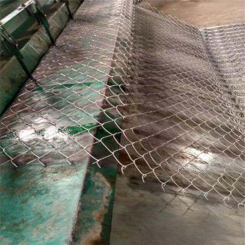 勾花网,手工编织网,钢丝勾花网,机器编织勾花网
