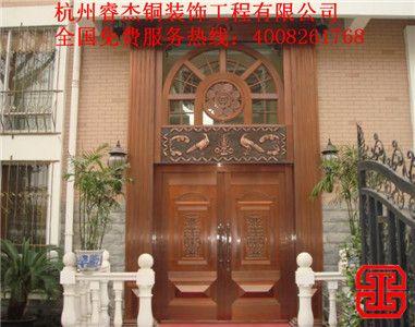 专业设计生产 高工艺高质量 铜门厂家直销