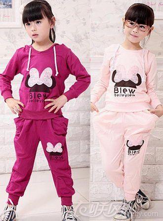 女童儿童套装怎么穿更加有范