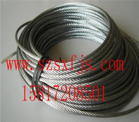 厂家销售镀锡钢丝绳 304不锈钢油性钢丝绳 厂家批发