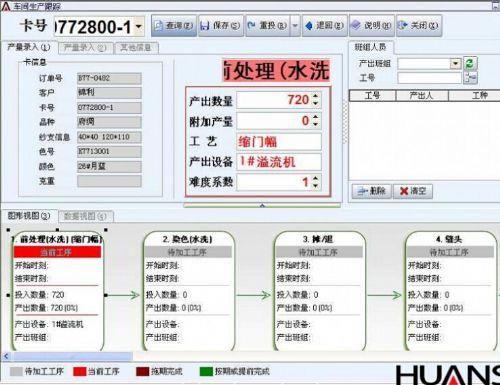 环思印染ERP管理软件简介