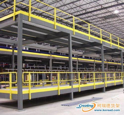 金华柯瑞德钢结构平台方案设计