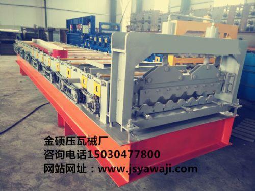 温州彩钢设备价格/温州铁皮压瓦机/金硕压瓦机械厂