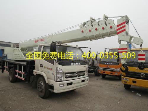 龙工8吨汽车吊4102型生产厂家