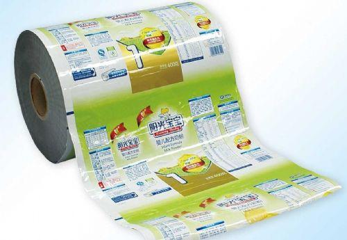 棉纸复合卷膜-牛皮纸复合卷膜-棉纸包装袋-顺发印务