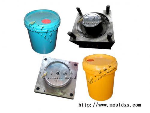 中国18机油桶塑料模具厂家 专业18公斤机油桶模具开模