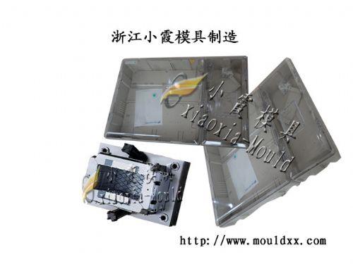 小霞8表电表箱注塑模具制造 生产注射8表位电表箱模具价格