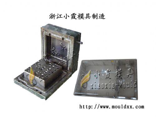 中国2表位塑胶电表箱模具厂家,专业注射2表电表箱模具开模