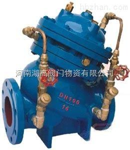 河南JD745X隔膜式多功能水泵控制阀厂家价格