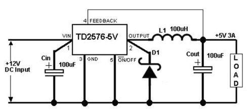 tda009a单声道电路图