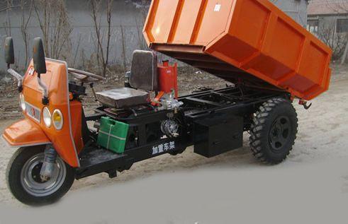 柴油防爆矿用三轮车 2吨矿用三轮车