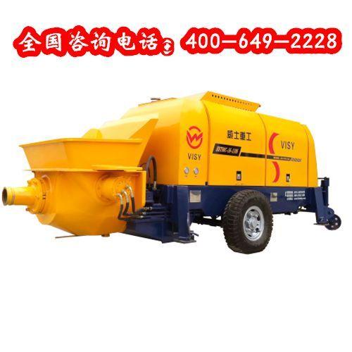 车载泵混凝土输送泵适用范围有哪些