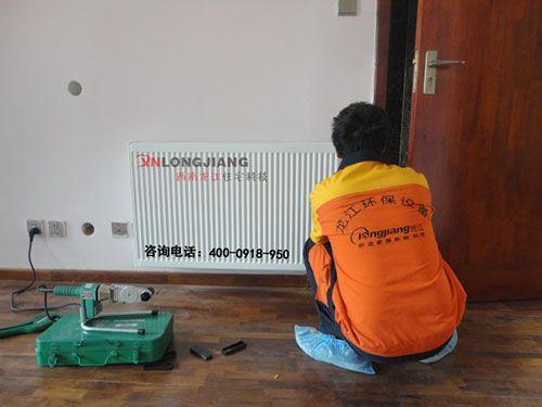 老房子安装采暖选择西南龙江暖气片