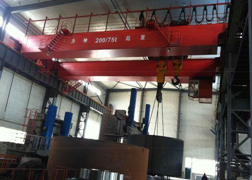 200-75吨吊钩桥式起重机