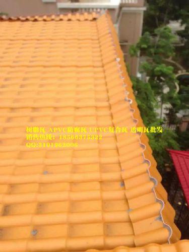 脂合成屋面瓦,装饰瓦,仿古复合树脂瓦图片