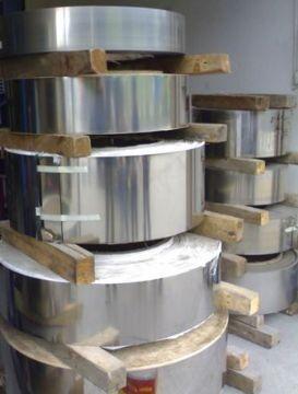 冷轧不锈钢料 301不锈钢宽钢带 高硬度发条钢带 现货销售