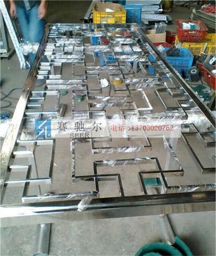 魏县中式不锈钢屏风