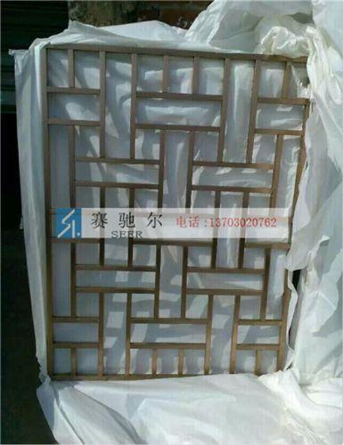 峰峰矿区门店隔断不锈钢屏风 拉丝不锈钢屏风