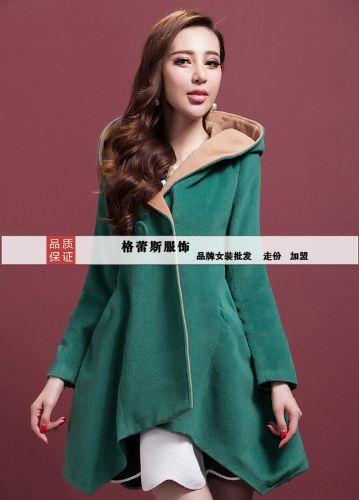 慧之芳羊绒大衣高端时尚格蕾斯低价供货