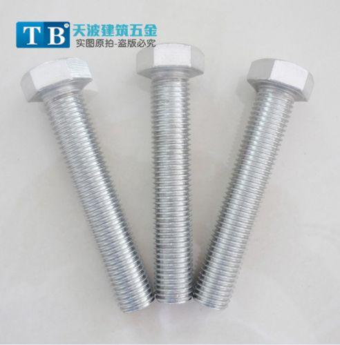 天波厂家直销 不锈钢六角螺栓m12*110外六角螺丝