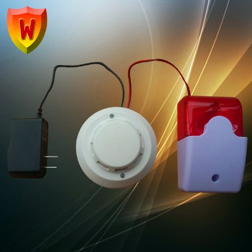 仓库火灾烟雾探测器,家用烟感探测器,新疆烟雾报警器