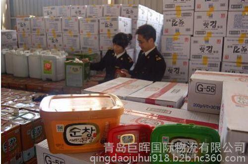 青岛进口韩国瓶装食品关税是多少,专业进口清关代理公司