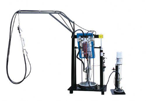 SD05气动双组份打胶机,幕墙玻璃专用打胶设备,济南德旺