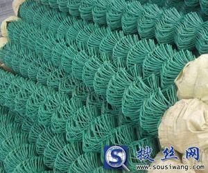 勾花网厂家供应45×45mm包塑勾花网340平米起批