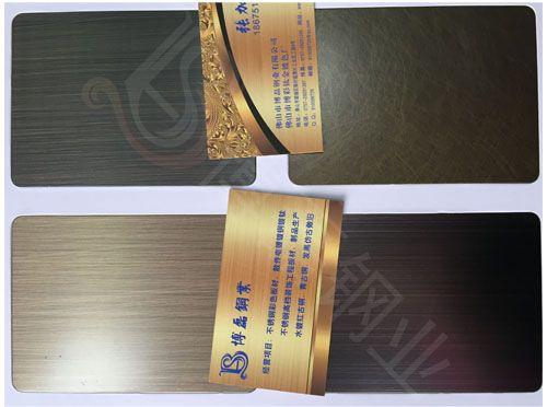 佛山镀铜 201 0.5mm 镀铜不锈钢板 镀铜板 设备齐全 工