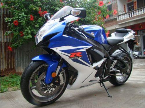 最新款 铃木GSX-R600 上海翱拓摩托车 带发票