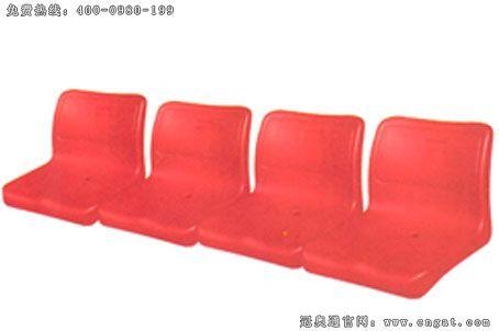 体育馆普遍使用中空吹塑看台椅