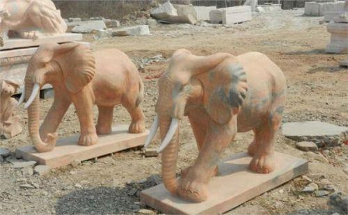 石雕大象,石雕大象厂家