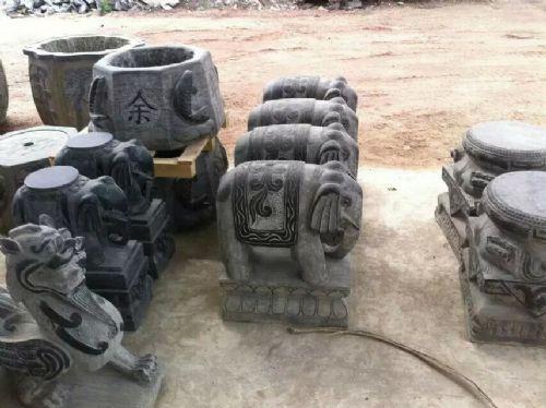 60厘米,80厘米,1米的石雕大象