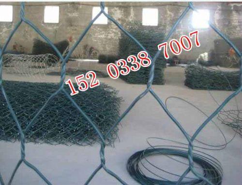 大坝生态护底格宾石笼,生态镀锌覆塑格宾笼网垫,护坡涂pvc格宾笼