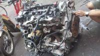 奥迪A4排气管电脑板曲轴拆车件原厂件