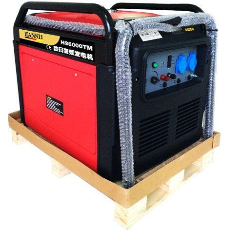 5KW家用数码变频发电机