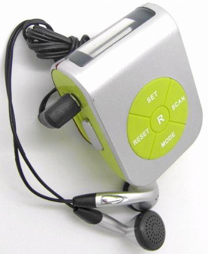收音机计步器