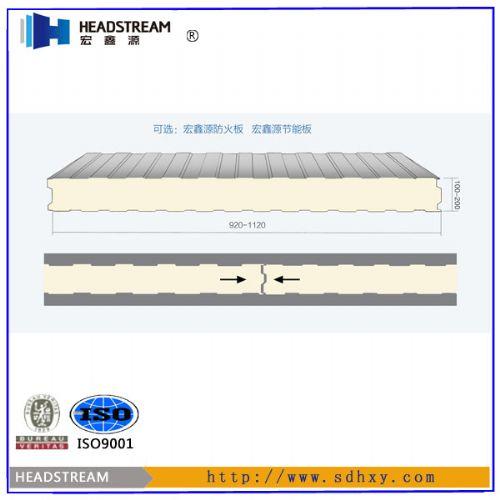 聚氨酯彩钢板价格表|聚氨酯彩钢板防火性能-山东聚氨酯彩钢板厂家