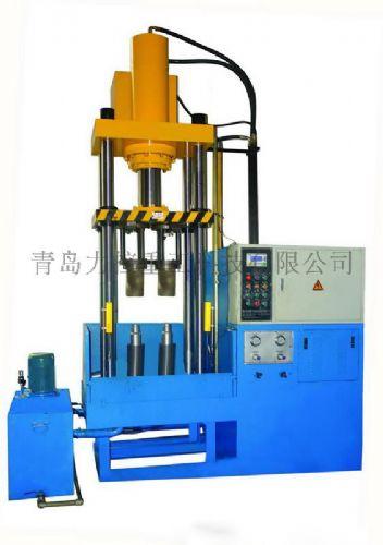 四柱水胀形液压机,液压机,小型液压机,青岛力控液压机