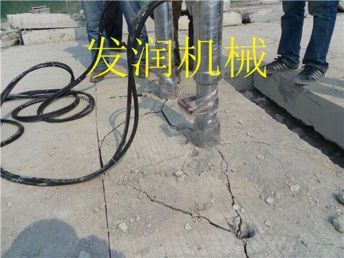 矿山免爆破开采设备电动型液压劈裂机