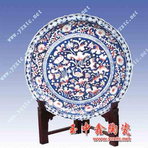 专业定做各类陶瓷盘子厂家,景德镇陶瓷纪念盘