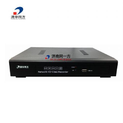 清华同方POE型4路1盘位嵌入式NVR