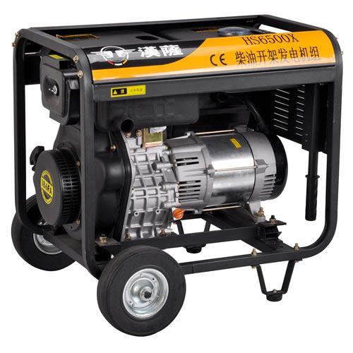 5kw家用柴油发电机