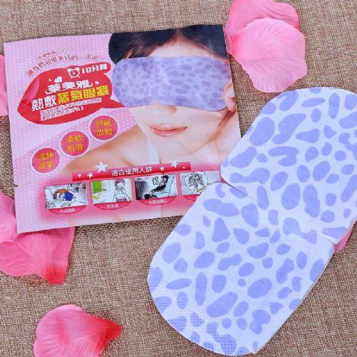 高质量蒸汽眼罩 自发热蒸汽保湿棉布保健护眼罩