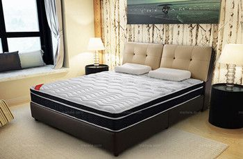 深圳淘美居家居时尚系列床上用品之软硬双面天然乳胶环保床垫