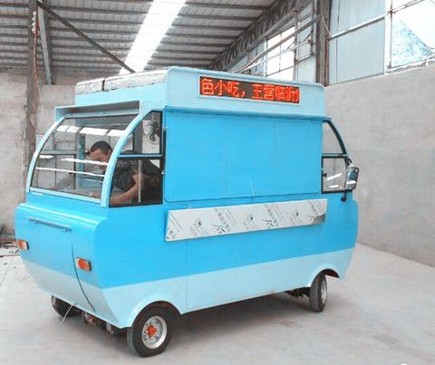 临沂电动餐车生产厂家直销流动小吃车